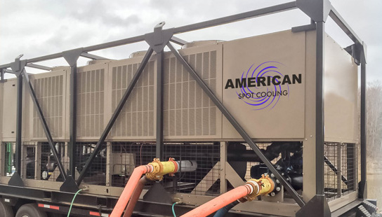 American Spot Cooling - rent portable chillers in Boston, MA