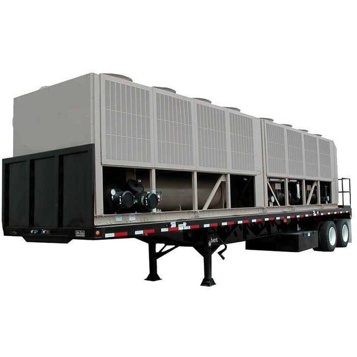 300 Ton Rental Air Cooled Chiller | York YCAS0300